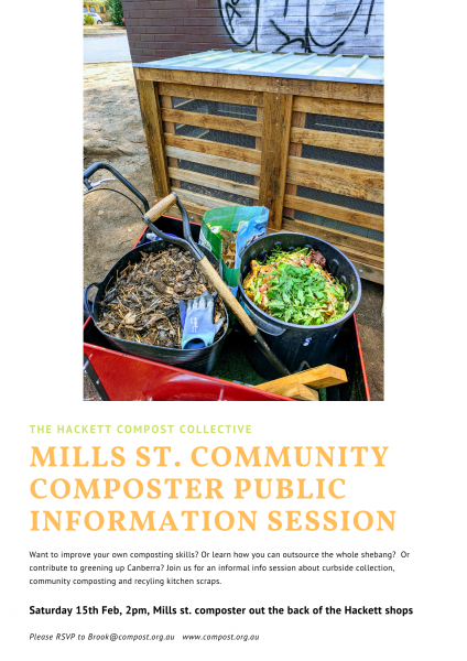 Come to our Mills St. composter launch and info session to learn what is possible